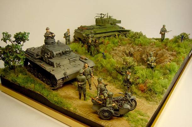 Диорама военная своими руками