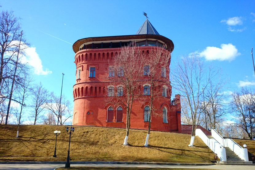 Водонапорные башни зимние время