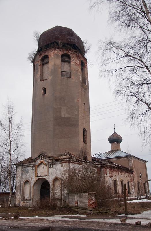 Вологодская водонапорная башня архитектор