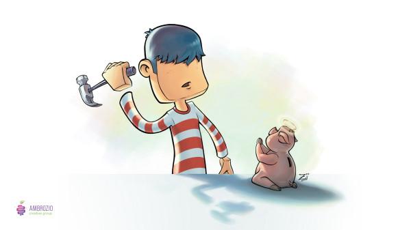 Обои свинья на рабочий стол