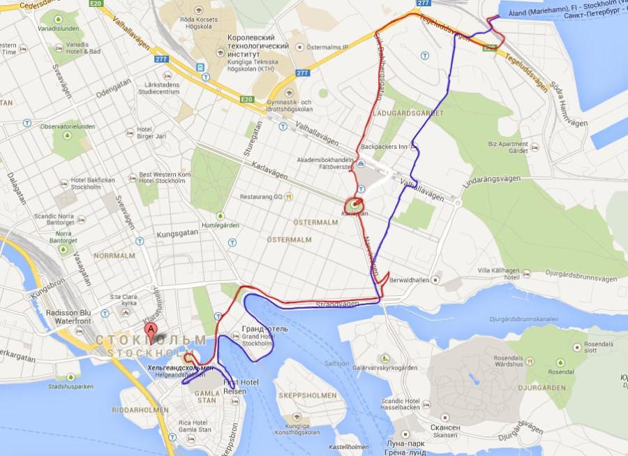 стокгольм - Карты Google - копия