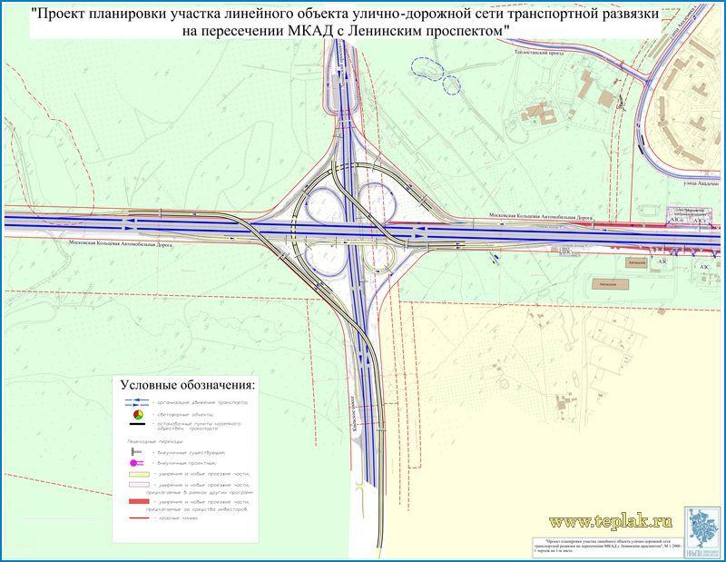 Развязка на ленинском проспекте и мкад схема фото 976