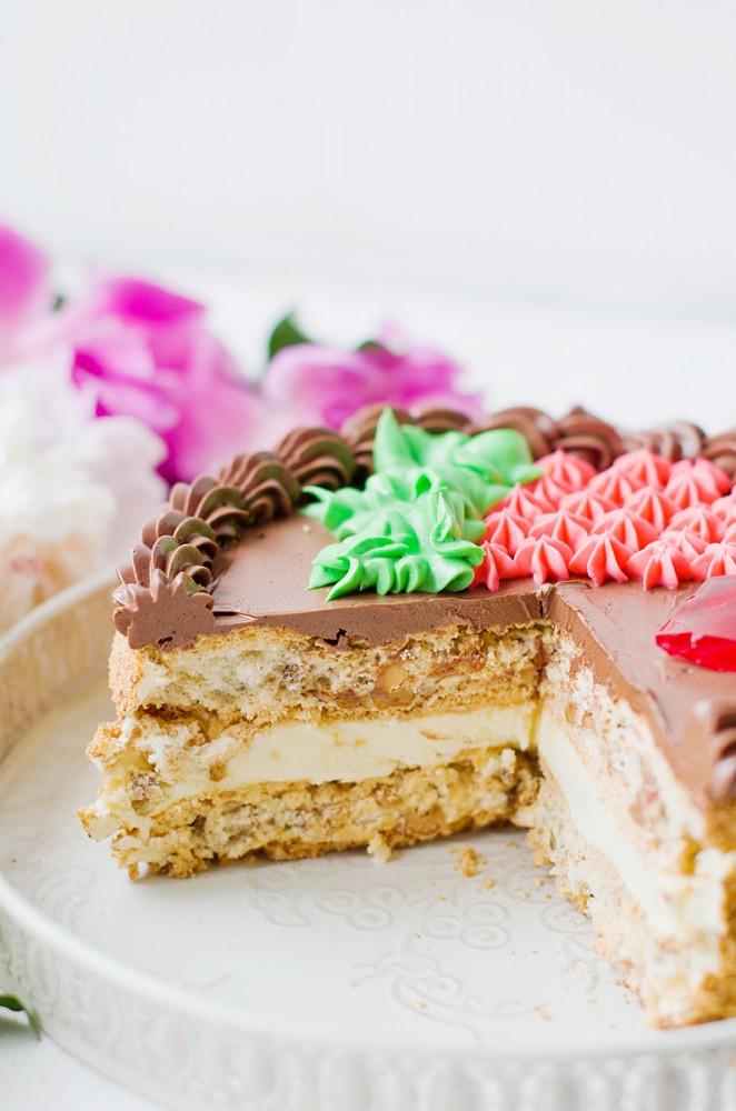 крем для киевского торта настоящий рецепт