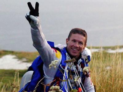 Новое видео прыжка из стратосферы Феликса Баумгартнера