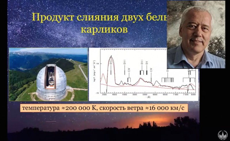 Фрагмента доклада Василия Васильевича в МГУ в декабре 2020
