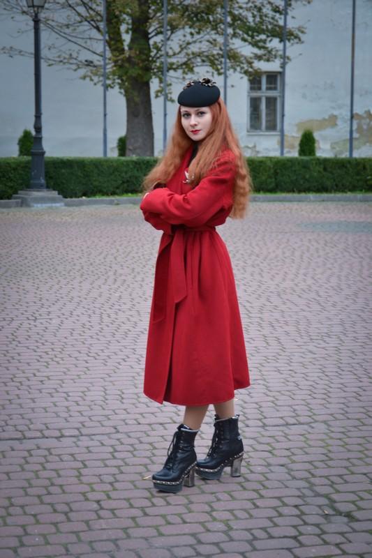 Красное пальто, как лекарство от хандры 3