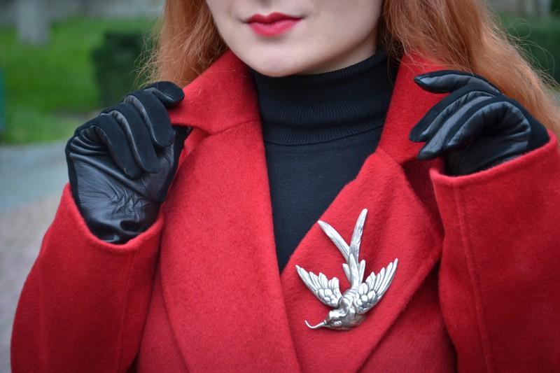 Красное пальто, как лекарство от хандры 4