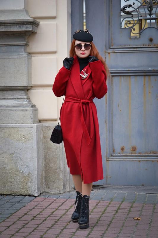 Красное пальто, как лекарство от хандры 5