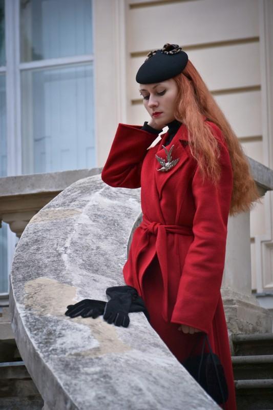 Красное пальто, как лекарство от хандры 6