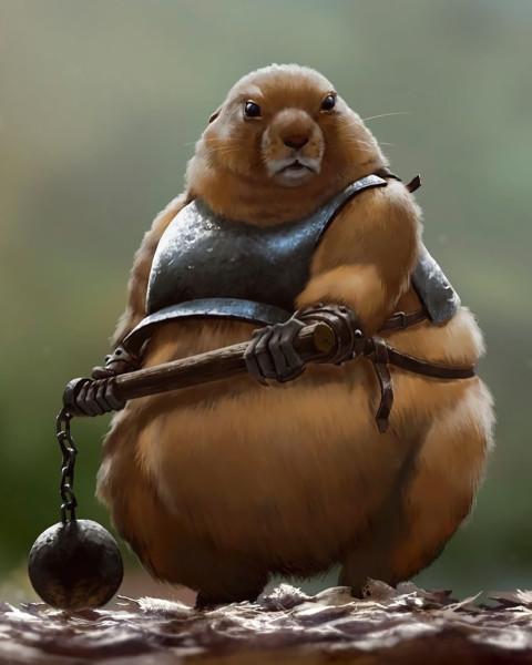 weapon-armor-hamster-1720419.jpg