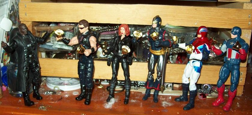 handbell avengers