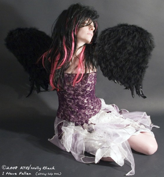 Molly as fallen angel