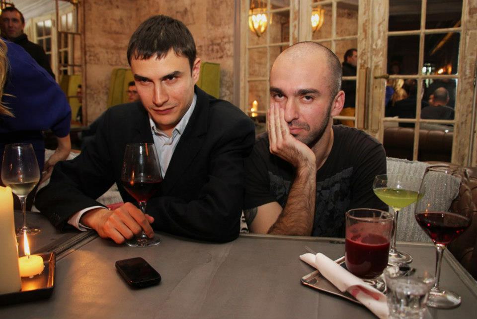 Сергей Шаргунов и Александр Снегирев