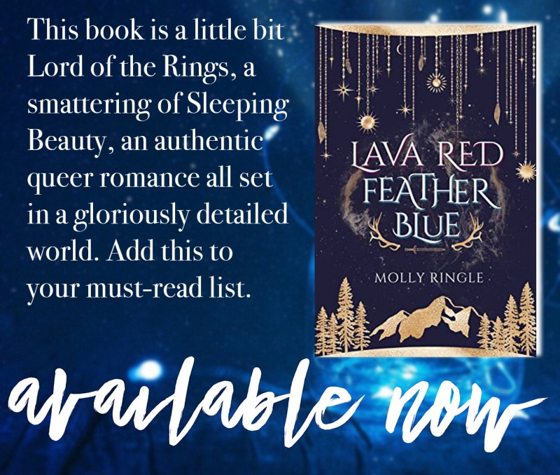 Lava Red Feather Blue is available now!