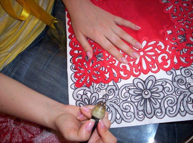 Как сделать выжигание на ткани - SL photo