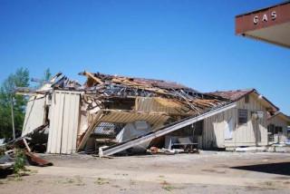 Tornado Damage in the Selmer Area