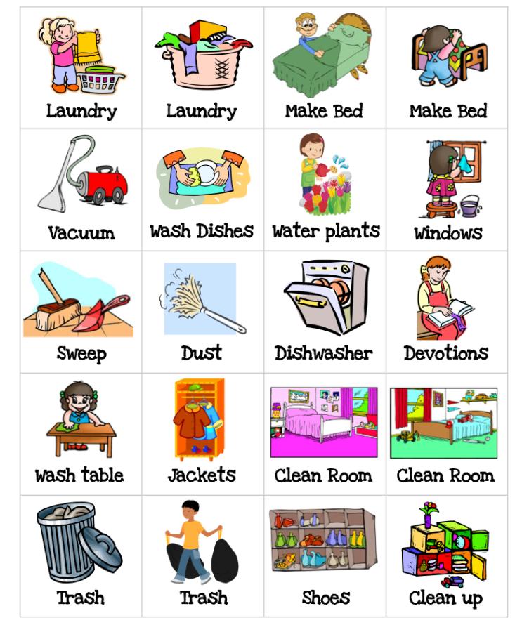Дни недели на английском для детей с картинками