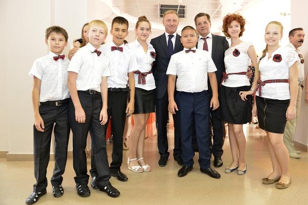 В Астраханской области Министр образования РФ Дмитрий Ливанов принял участие в мероприятиях, посвященных предстоящему учебному году