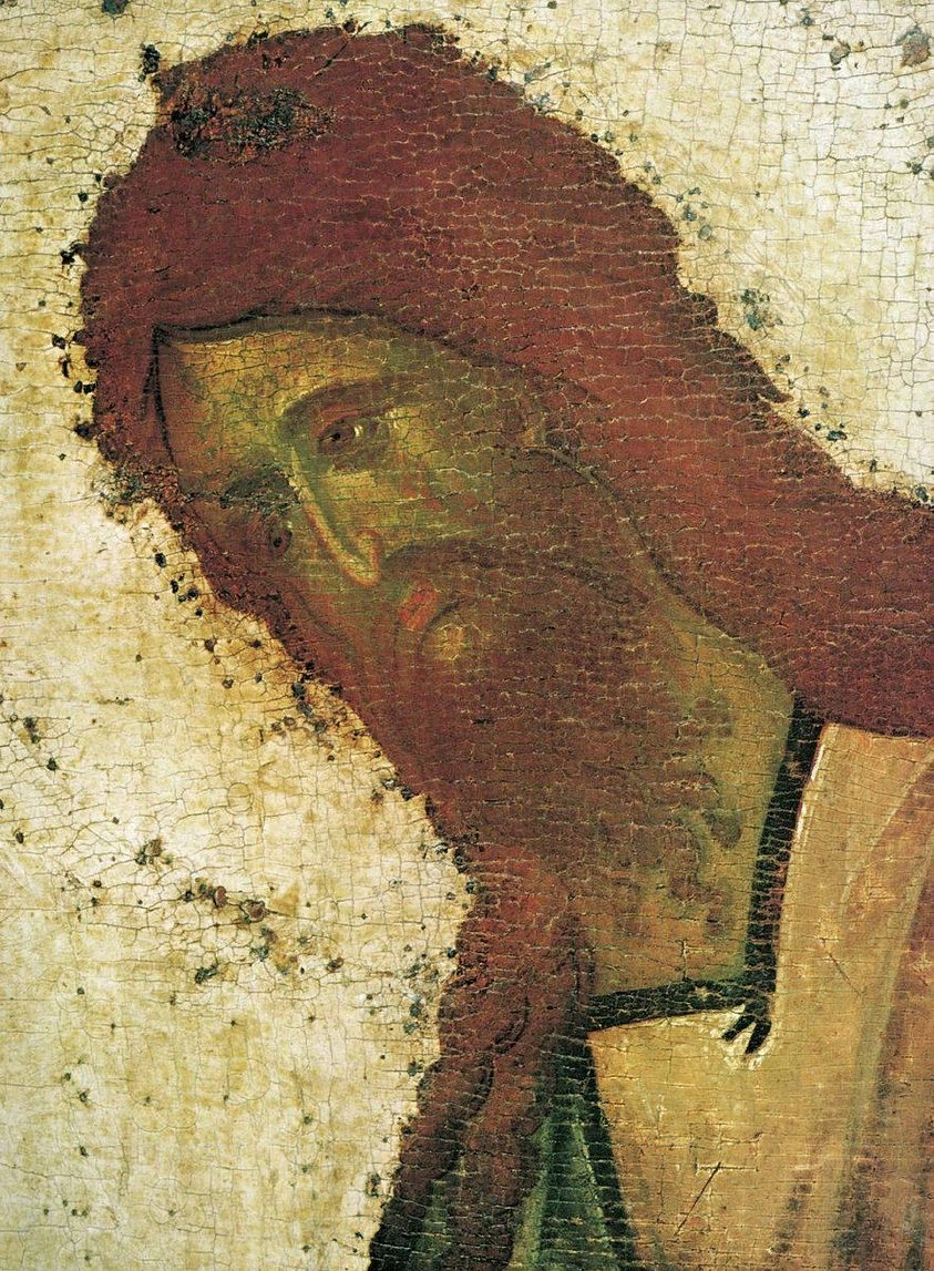 Феофан Грек. Деисусный чин, конец XIV- начало XV века. Благовещенский собор в Московском Кремле.