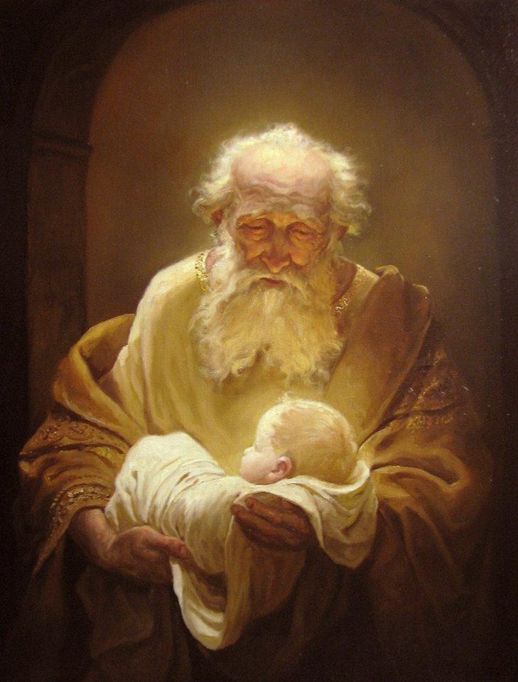 """""""Симеон и Иисус""""-Шишкин А.А."""