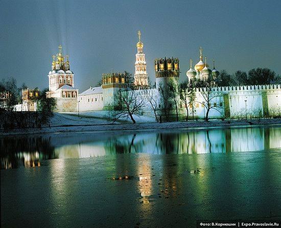 Новодевичий монастырь. Фото: В.Корнюшин / Expo.Pravoslavie.Ru
