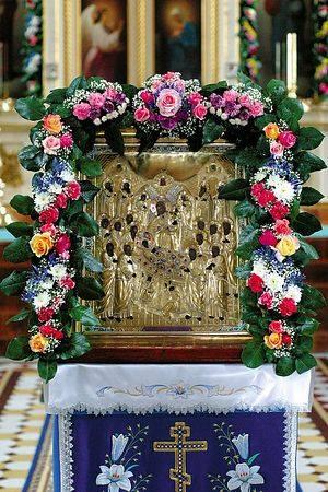 Пюхтицкая чудотворная икона Успения Пресвятой Богородицы