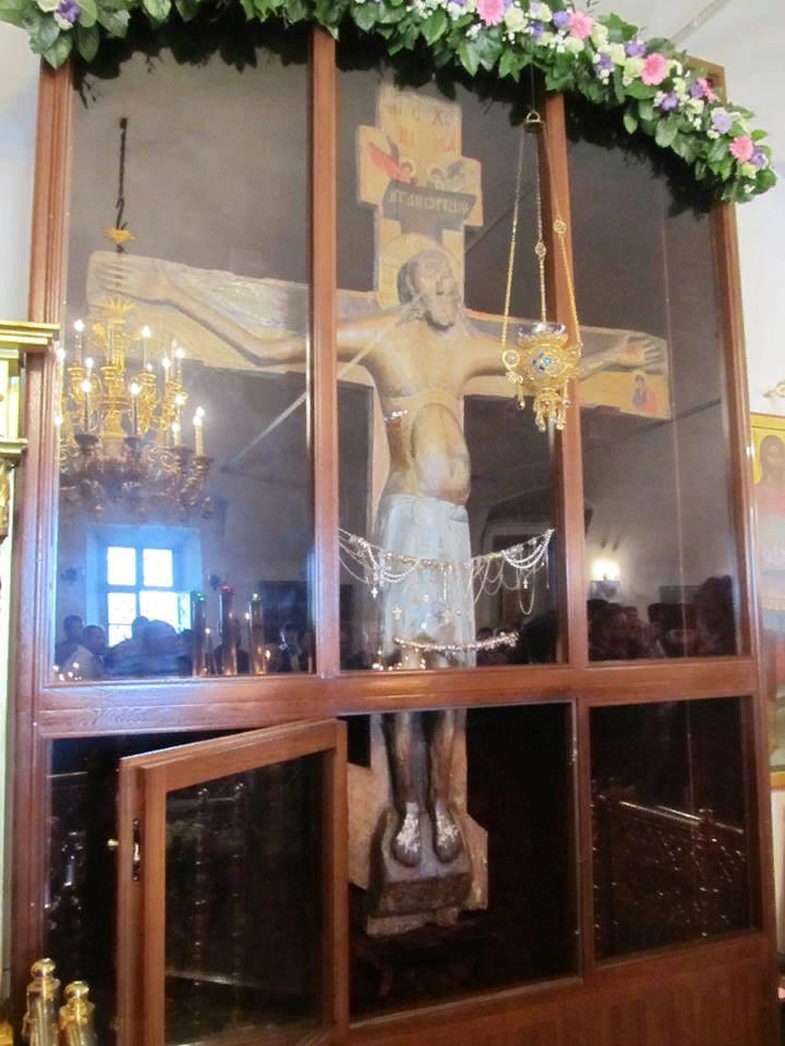 Животворящий Крест Господень в Годеново - Великая святыня, которая обладает чудодейственной силой.