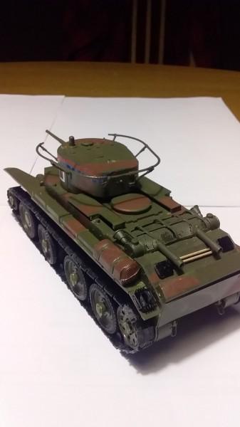 Сборка моделей: БТ-7