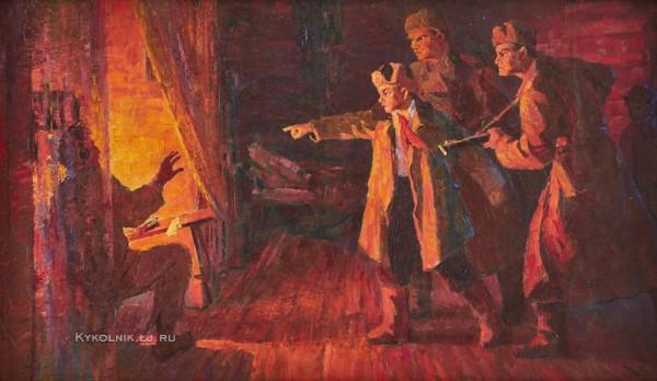 Марков Иван Иванович (1920-1979) «Разоблаченный» 1962