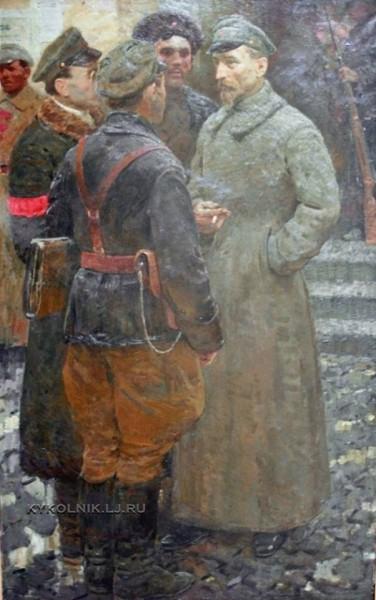 Котляров Лев Серафимович (1925-2007) «Феликс Дзержинский»