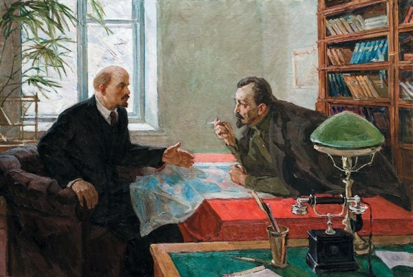 «Ленин и Дзержинский» творческо-производственное объединение «Художник» 1975