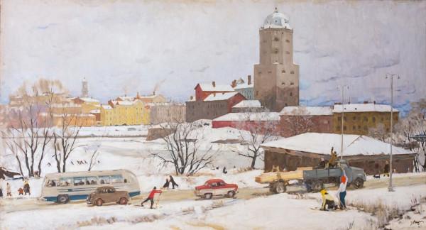 Выржиковский Эдвард Яковлевич (1928-2008) «Выборг» 1962