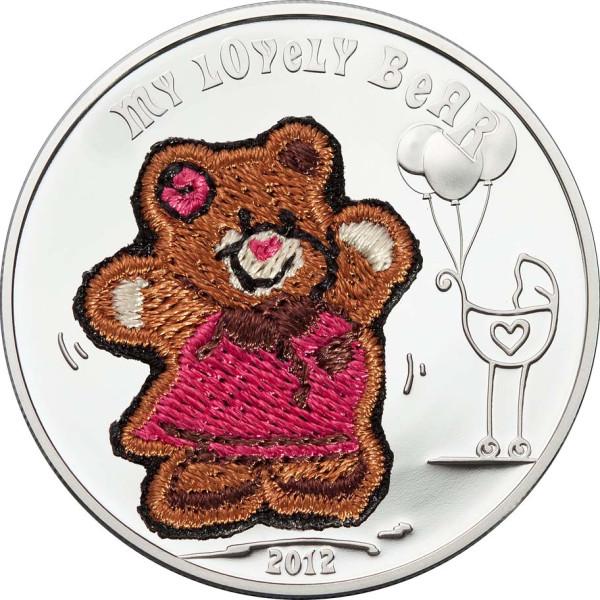 Монета с вышивкой