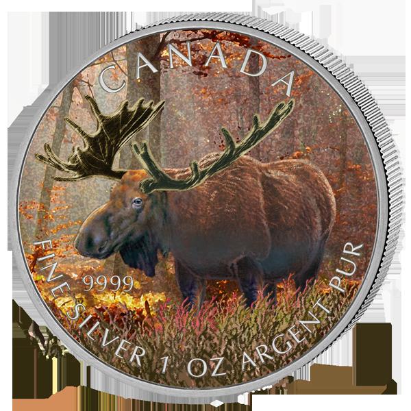 монеты с животными канады
