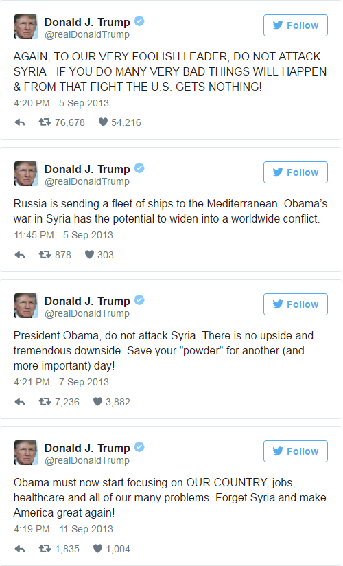 Про Трампа и Сирию