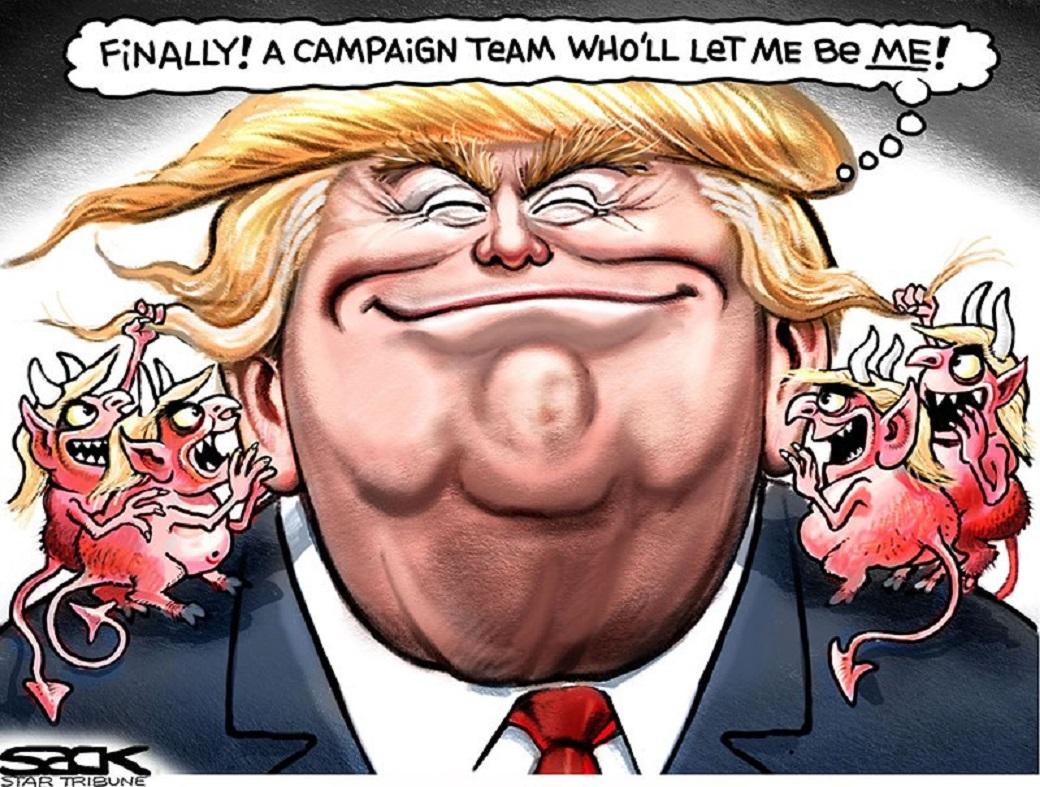 О первых внешнеполитических шагах Трампа