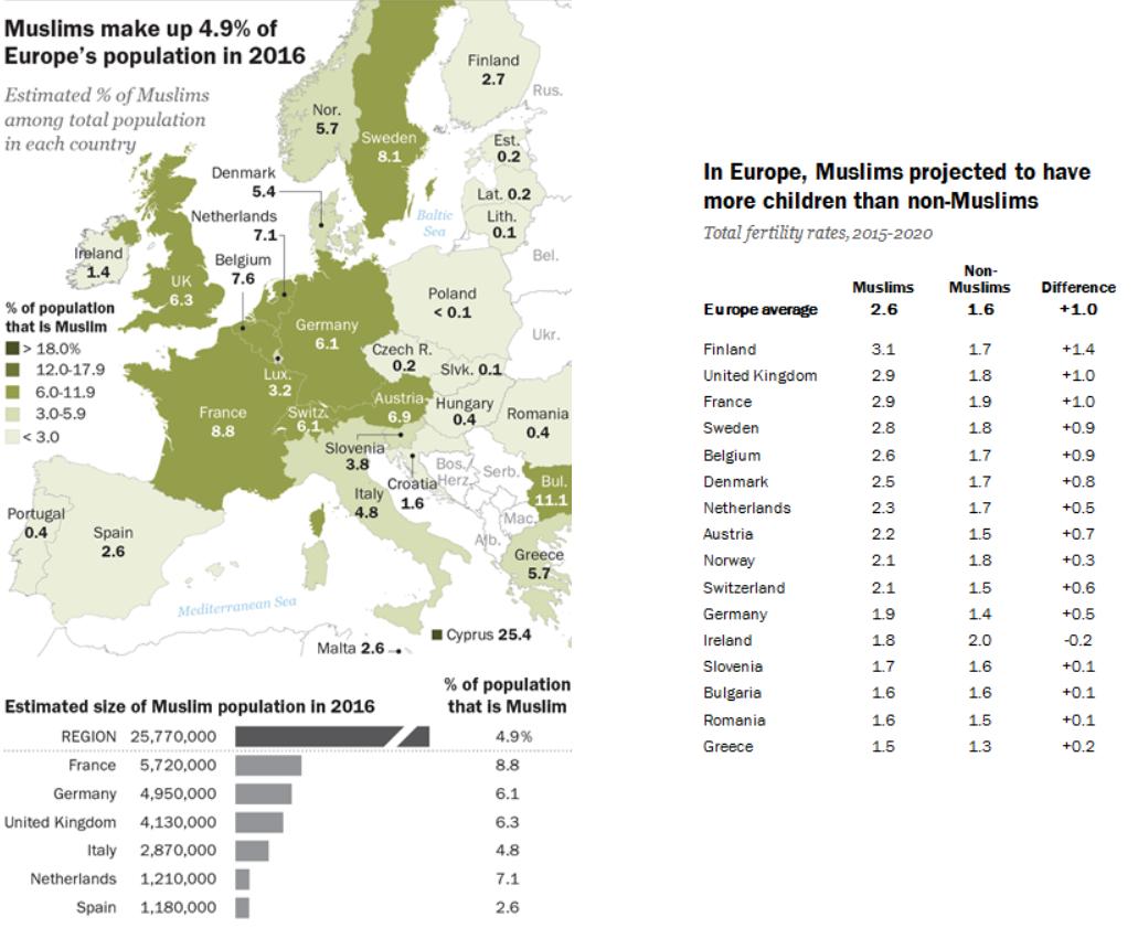 О демографических перспективах Европы