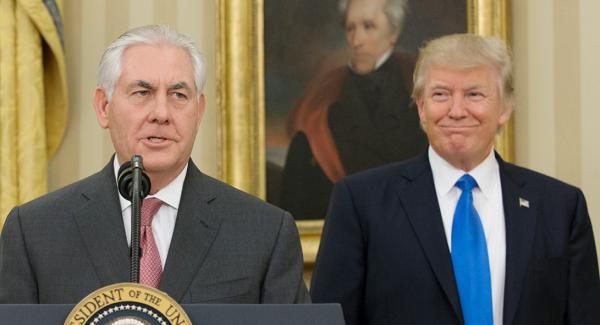 Трамп с Тиллерсоном чистят Госдепартамент
