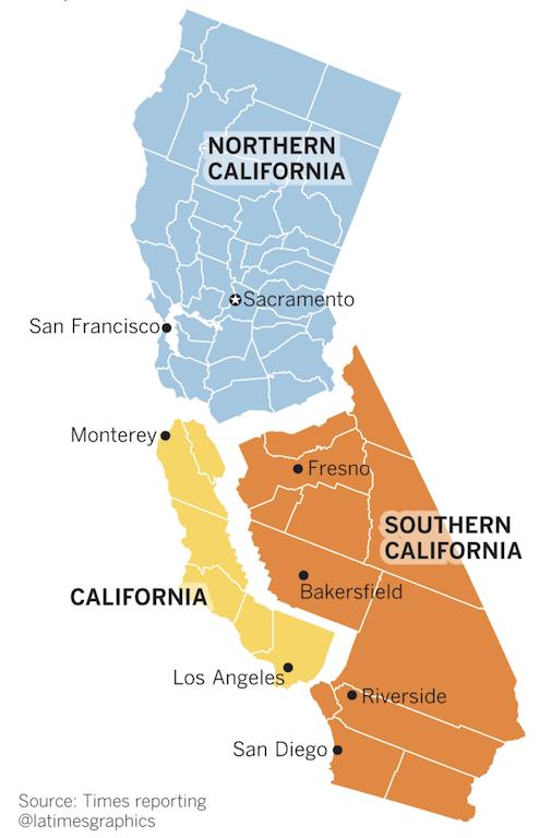 Зачем нужно поделить Калифорнию