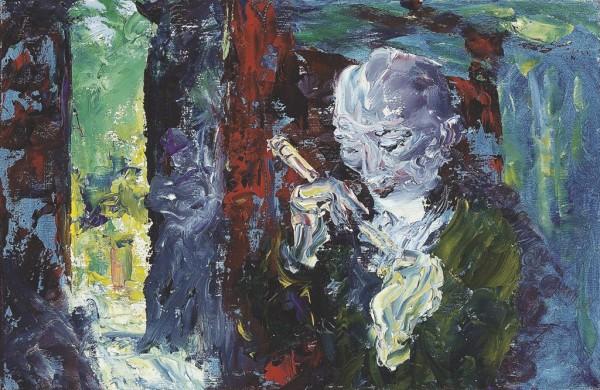 Jack Butler Yeats (Irish, 1871-1957), The music has come,