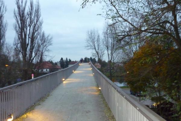 мостик через Лабу в Нимбурге