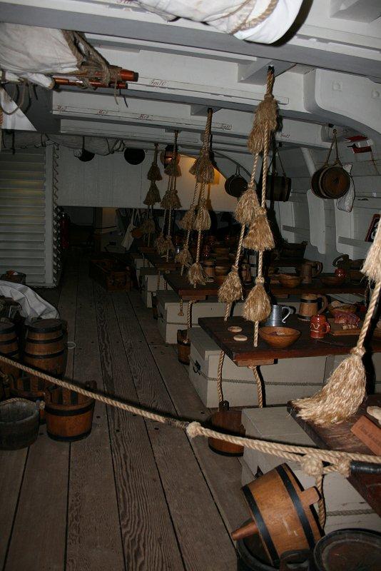 Mess deck - port side