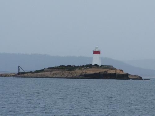 Gloomy Iron Pot lighthouse
