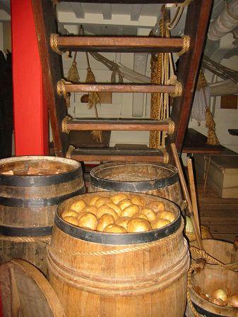 Mess Deck Barrels