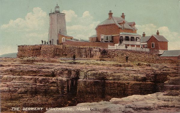 Iron Pot Lighthouse in the Derwent