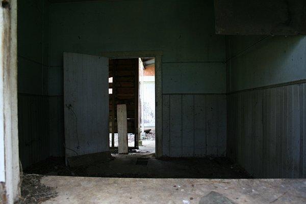 Through back room
