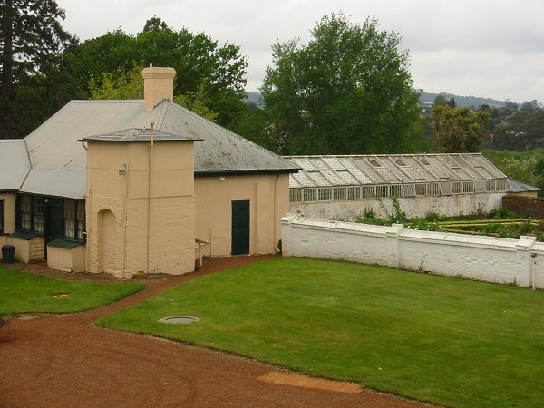 Kitchen & greenhouse