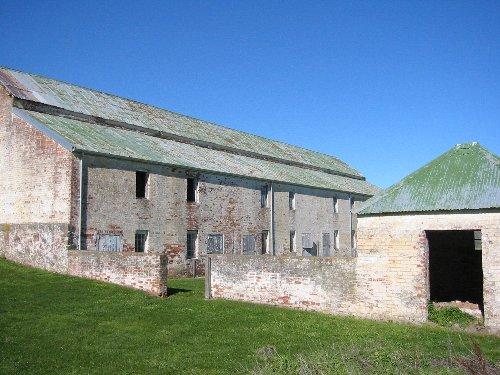 Rear of coach house & guard house