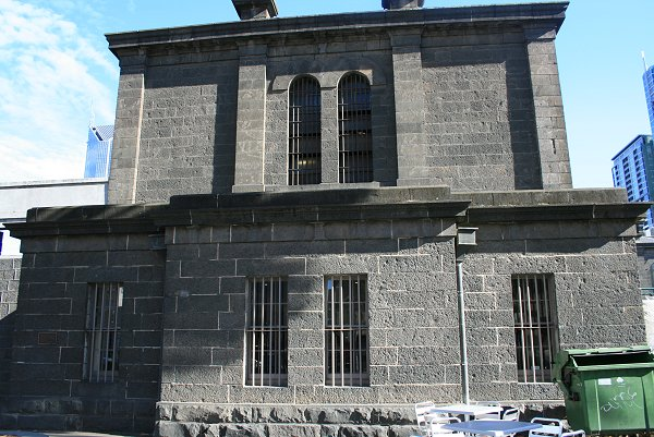 When Was The Old Melbourne Gaol Built
