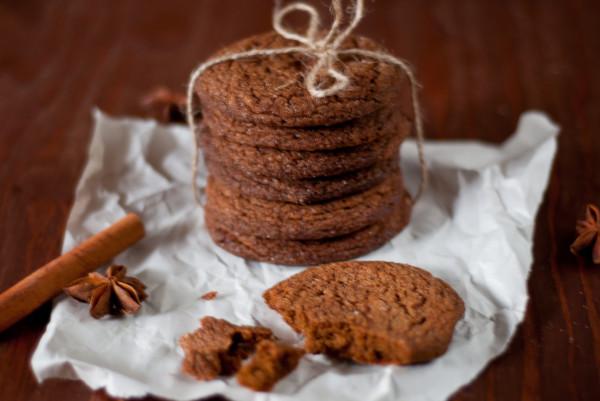 имбирное печенье с патокой